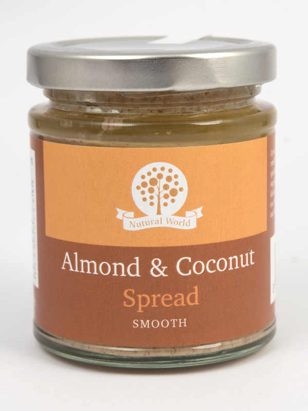 Almond and Coconut Spread Smooth 170gr