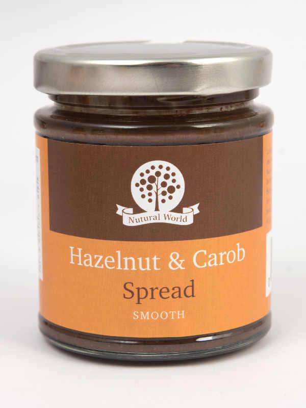 Hazelnut And Carob Spread Smooth